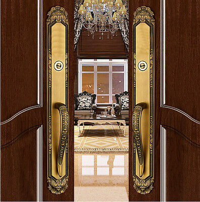 Gove European style Villa Luxurious Exterior Entry Door Handlesets Mortise Lock