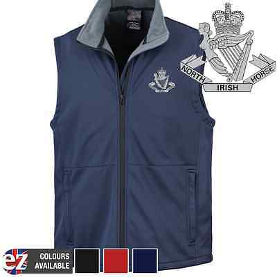 North Irish Horse - Body Warmer with Embroidered Badge