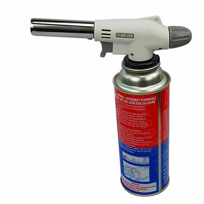 Butane Gas Paint Remover Welding Soldering Iron Blow Heating Torch Flame Gun