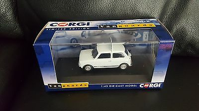 CORGI Vanguards Mini 1275GT Glacier White  VA13505 1-43 scale model car