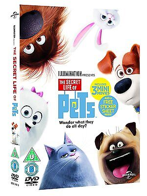 The Secret Life Of Pets DVD NEW & SEALED