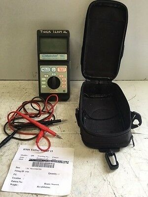 Metrohm 16C Insulation and Continuity Tester