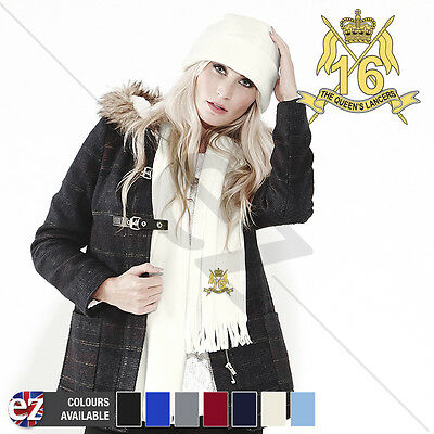 5th The Queens Royal Lancers - Scarf - With Embroidered Badge