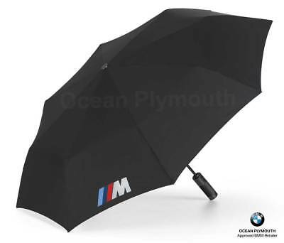 Genuine BMW M Folding Umbrella - Black - 80232410917