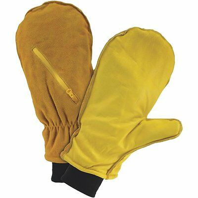 West Chester Chopper Mitten INSULATED COLD WEATHER GLOVE W/ZIPPER POCKET LARGE
