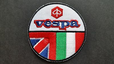 VESPA DESCRIPTION TO FOLLOW MOD SKA SCOOTER RALLY SEW ON IRON ON PATCH:
