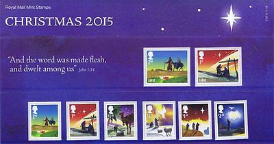 Christmas stamps in Presentation Pack 2015