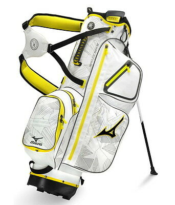 New Mizuno Golf Eight-50 Lightweight Double Strap Stand Bag White