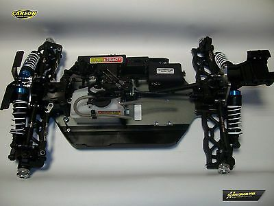 Carson Chassis mit Achsen vom Specter X8NB Buggy 1:8