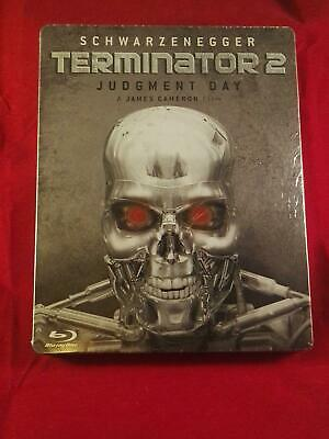 Terminator 2: Judgment Day Blu-Ray limited Steelbook,Region Free, long outsold