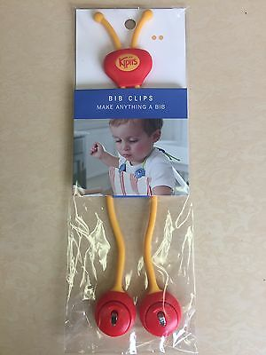 NEW, Kipiis Baby/Toddler Little Kids Bib Clips Made in USA