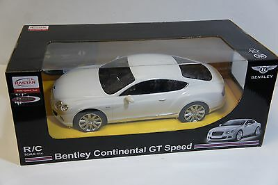 NEW- Rastar RC Bentley Continental GT Speed Scale 1:14
