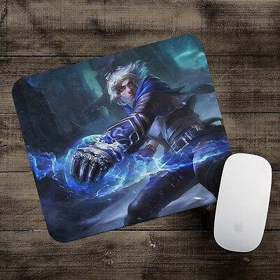 Frosted Ezreal Mousepad League of Legends mouse pad LoL gamer playmat