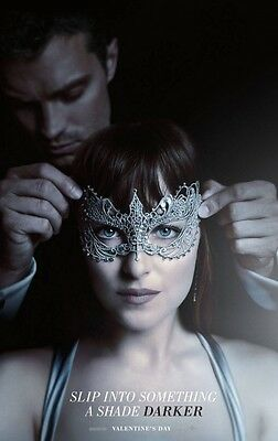 Fifty Shades Darker Advance Double Sided Original Movie Poster 27x40 inches