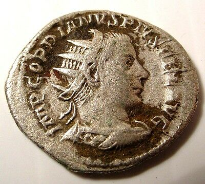 GORDIAN III 240AD Quality Authentic Ancient Silver Roman Coin DENARIUS