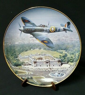 """Franklin Mint """"Defenders Of The Realm"""" Limited Edition Collector Plate"""