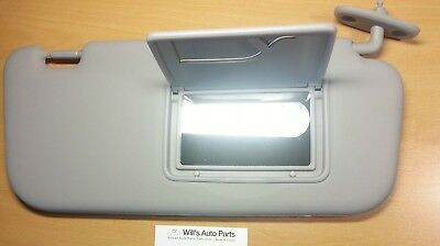 Hyundai Getz 2002 - 2011 Genuine Brand New Sun Visor Rh-Light Grey Color