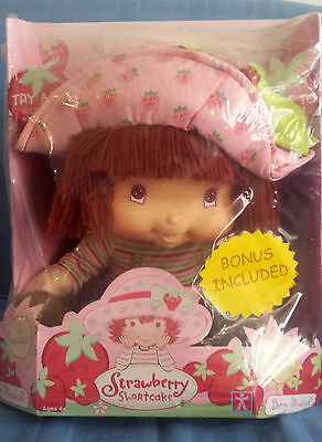NEW 2004 Talking Singing Scented Strawberry Shortcake Berry Musical 40 cm Doll