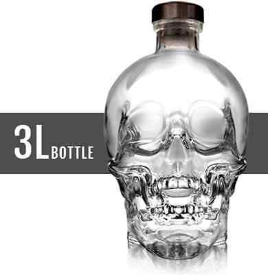 Crystal Head Skull Vodka 3 Litre Bottle Collectors Special Rare Gift