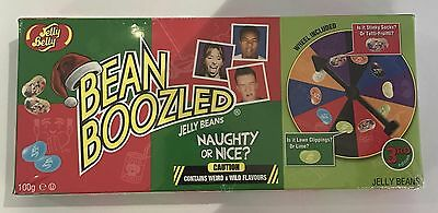 909734 100g BOX OF BEAN BOOZLED JELLY BEANS CHRISTMAS EDITION - WHEEL INCLUDED
