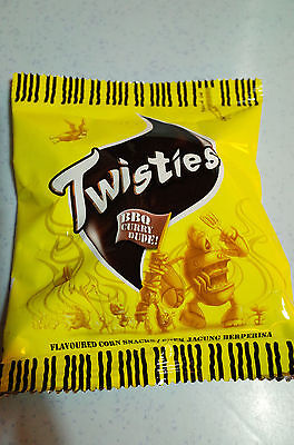 TWISTIES BBQ CURRY SNACK  60G / 2.1oz (Free Shipping)