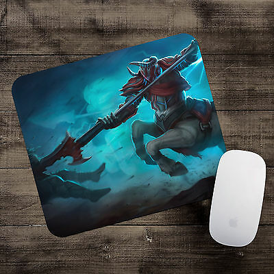 Blood Knight Hecarim Mousepad League of Legends mouse pad LoL gamer playmat