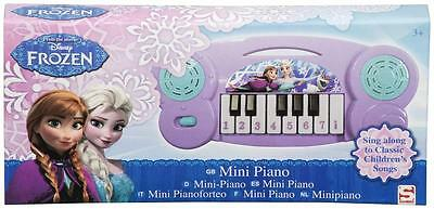 Mini Piano Disney Frozen Kinder Spielinstrument Kids Musik Klavier Noten NEU !