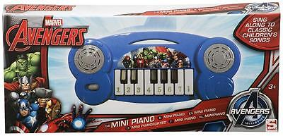 Mini Piano Marvel Avengers Kinder Spielinstrument Kids Musik Klavier Noten NEU !