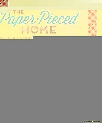 The Paper-Pieced Home Penny Layman Paperback New Book Free UK Delivery