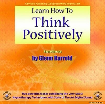 Learn How to Think Positively Glenn Harrold Author New CD-Audio Free UK Post