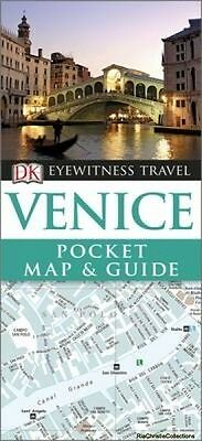 DK Eyewitness Pocket Map and Guide Venice DK Publishing Paperback New Book Free
