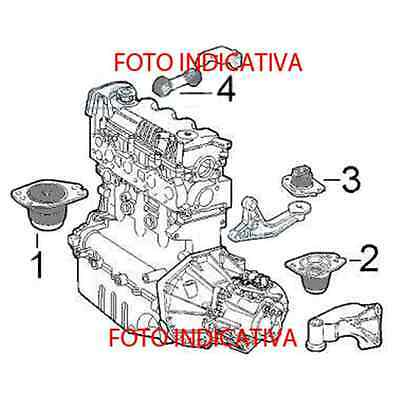 Supporto Motore Ant Dx Renault Megane 2 Scenic 2 1.5 Dci Cod: 8200042456