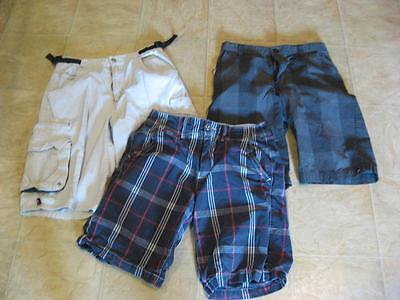 Youth Boys size 14 ~ 26 Cargo Shorts Lot American Eagle Hawk & Lee Pipes