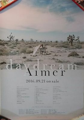 Aimer: Daydream (2016) UNFOLDED JAPAN PROMO POSTER