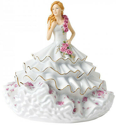 Royal Doulton Figurine Of The Year 2017 'victoria' (Hn5829) Brand New/boxed