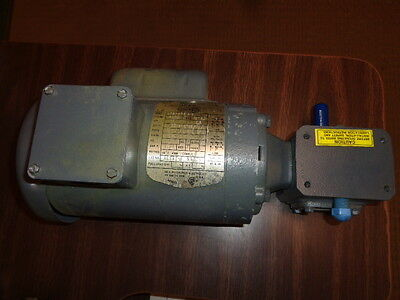 Boston Motor / Gear Reducer .17 H.P. ,  1725 RPM, 30:1 Ratio, 115-208 / 230 Volt