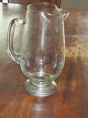 Watrous Sterling Silver base Martini Pitcher