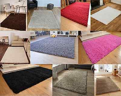 Shaggy Rug Super Soft And Modern Carpet Runner Non Shed Modern Home Decoration