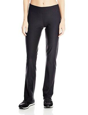 adidas Womens CLIMALITE Straight Workout Pant Athletic Yoga Black Leggings XS-2X