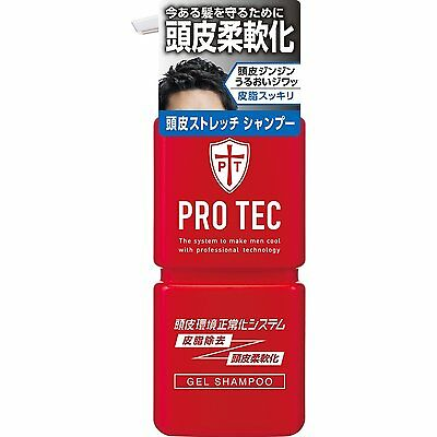PRO TEC Scalp Stretch Shampoo Pump Sebum Removal FROM JAPAN