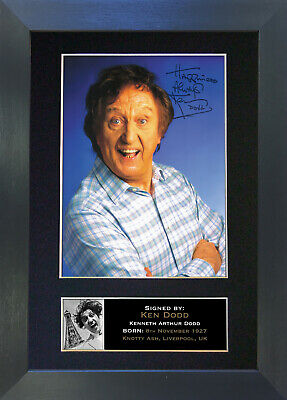 KEN DODD Signed Mounted Autograph Photo Prints A4 315
