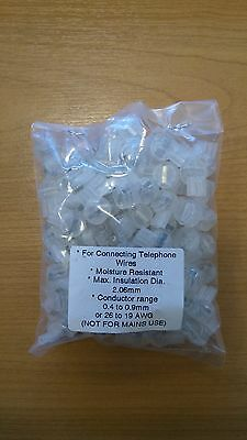 x100 Scotchlok BT 3 Wire Connector Wire Insulated 8B Telephone Jelly Crimp not3m