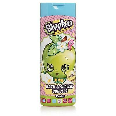 ** Shopkins Bath & Shower Bubbles 400Ml New ** Kids Wash