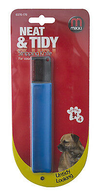 mikki Stripping Knife for coarse coated dogs (176)