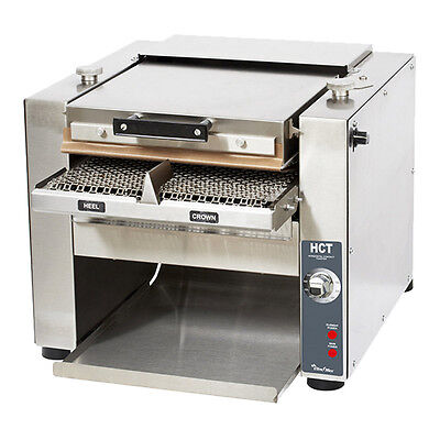 Star HCT13M Counterop Horizontal Contact Toaster 1,400 Slices Per Hour