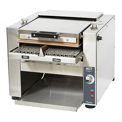 Star HCT13S Counterop Horizontal Contact Toaster 1,400 Slices Per Hour