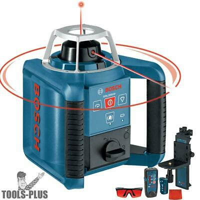 Bosch Tools GRL300HVD Self-Leveling Rotary Laser + Layout Beam Interior Kit New