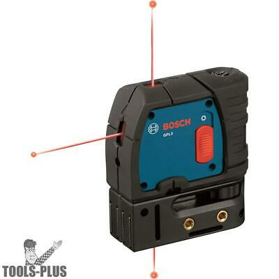 3-Point Self-Leveling Alignment Laser Bosch Tools GPL3 New