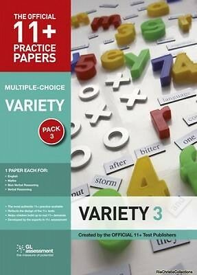 11 Practice Papers Variety Pack 3 Multiple Choice GL Assessment Paperback New Bo
