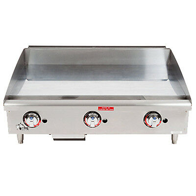 "Star 636TCHSF 36"" Heavy Duty Gas Countertop Griddle"